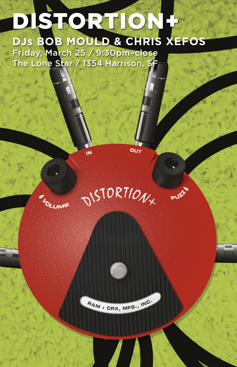 distortion plus poster number four