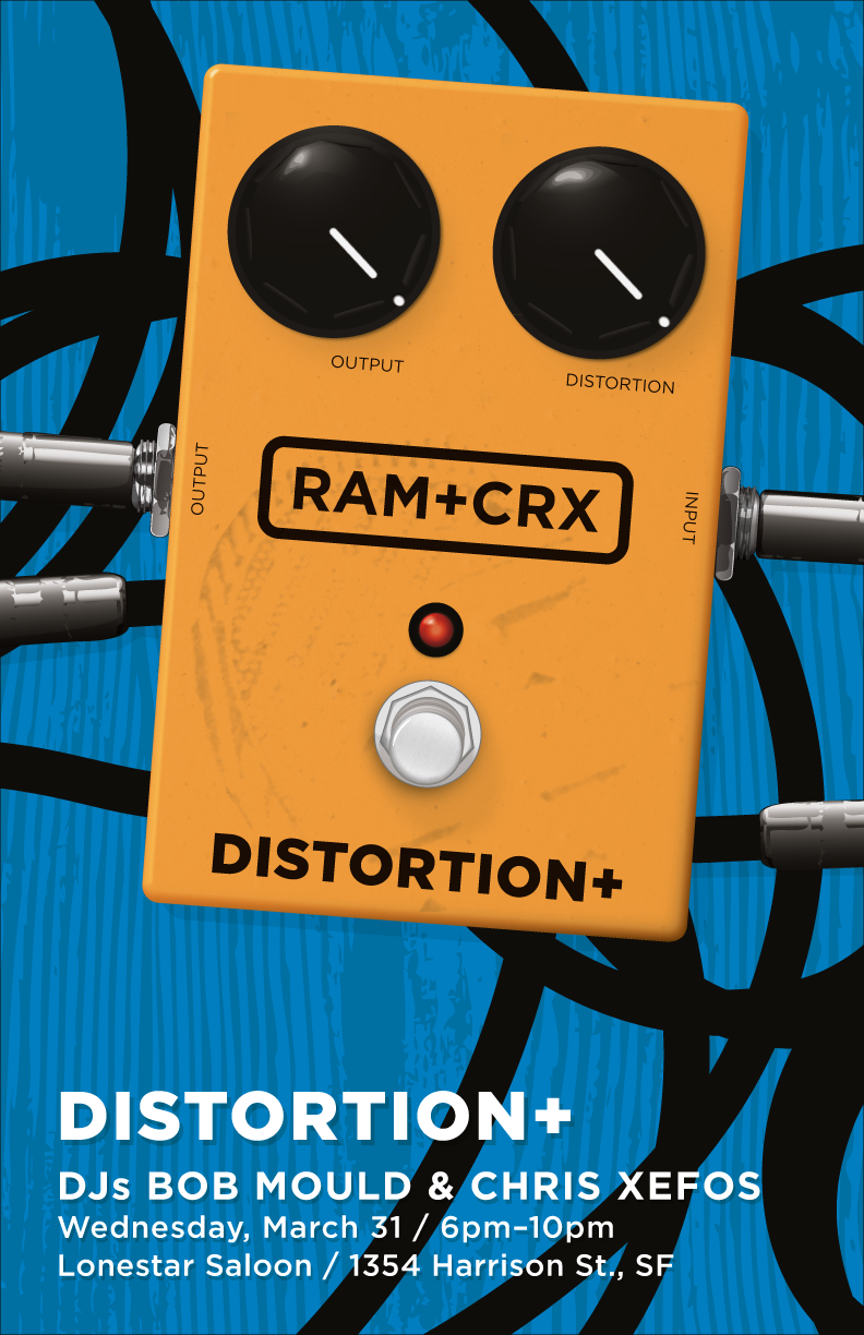 distortion plus poster number one